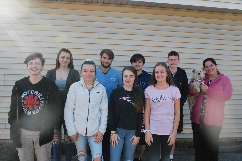 VETERINARY ASSISTING STUDENTS COLLECT PET  SUPPLIES FOR VICTIMS OF GAS EXPLOSIONS