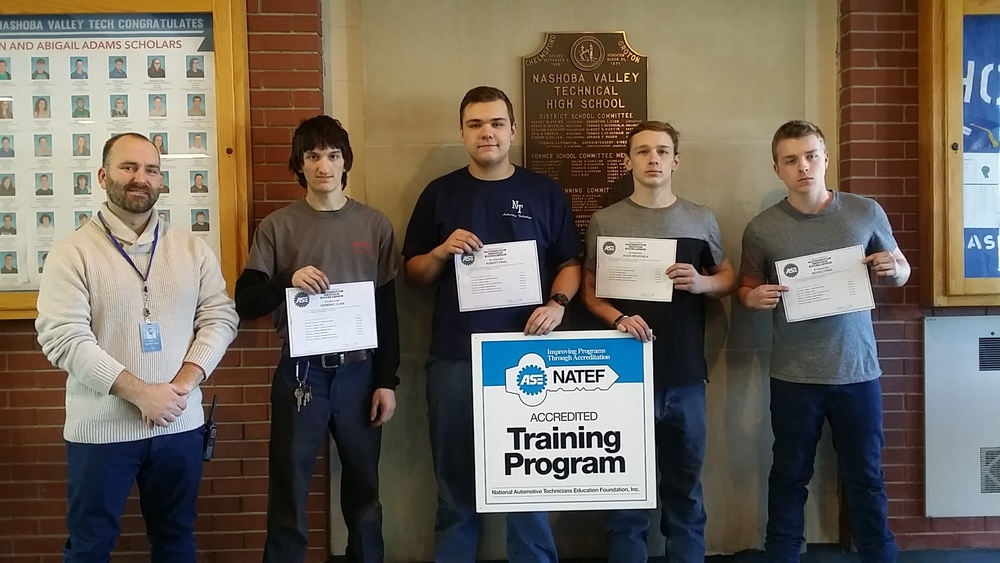 Auto Repair Students Pass Certification Standards