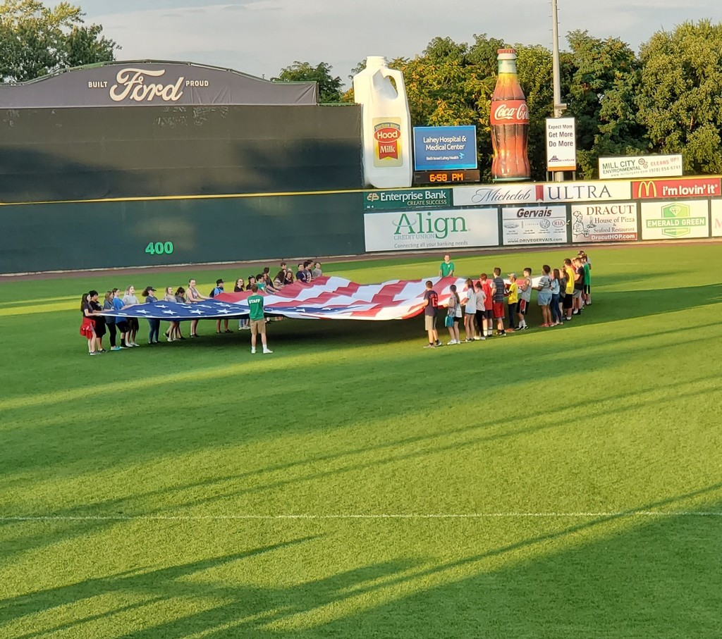 NVTHS Class of 2023 at Lowell Spinners