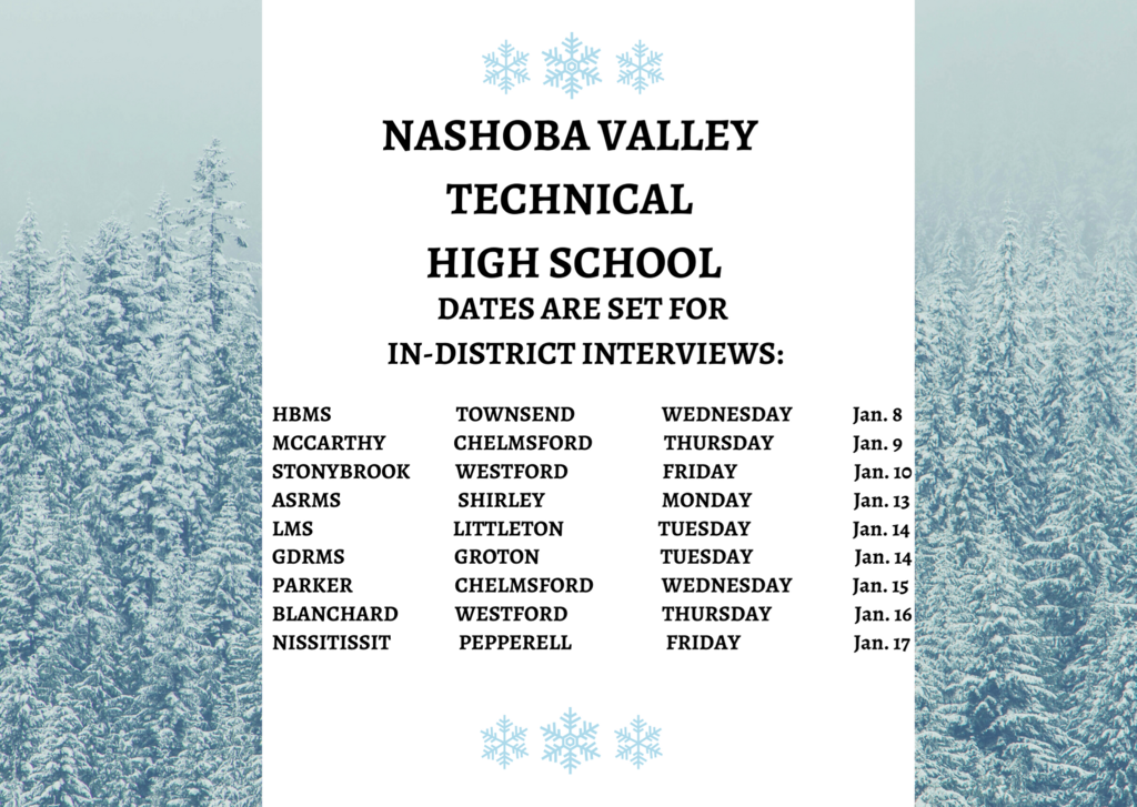 interview dates