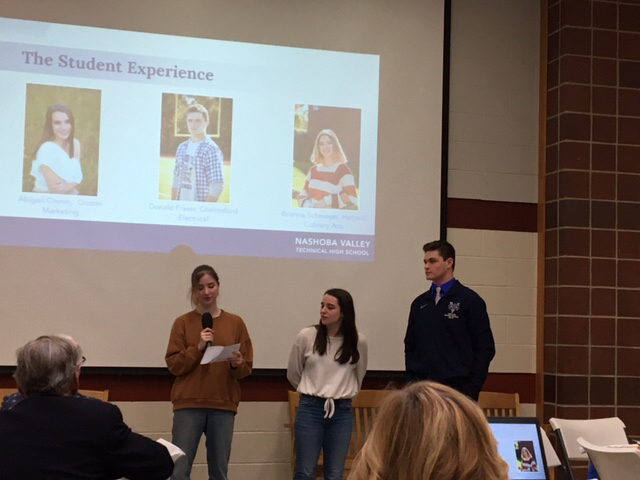 Student presenters FY21 Budget Presentation