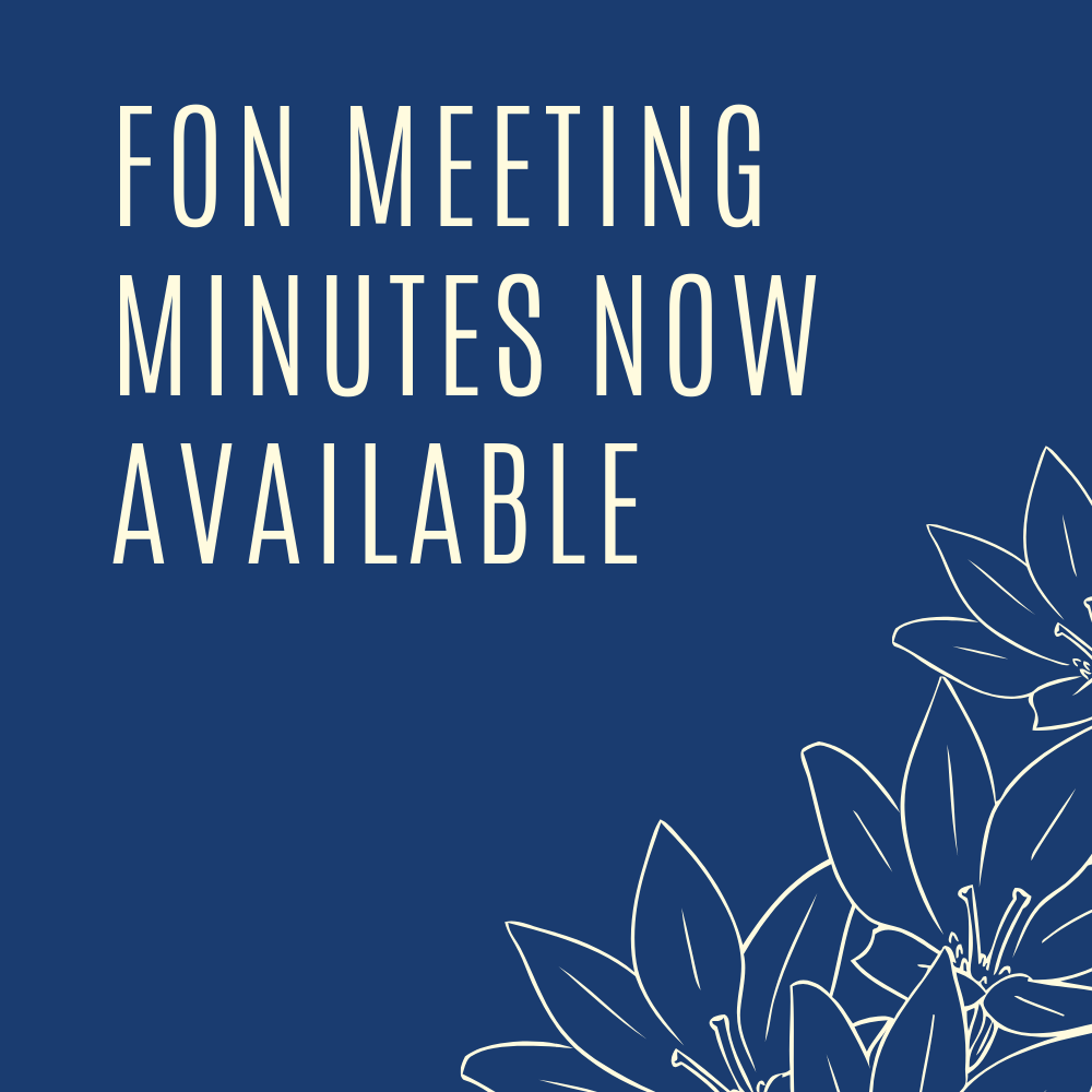 FON Meeting Minutes