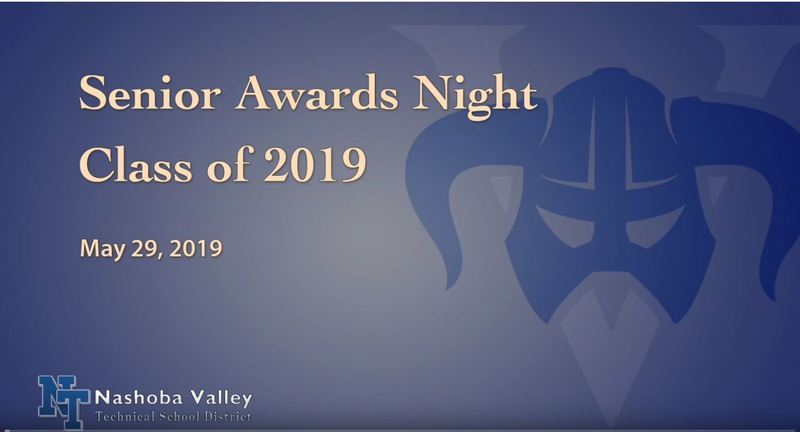 Senior Awards Night May 29, 2019